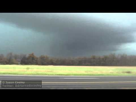 11/17/2013 High Risk! Tornado in Rain, Paducah, KY & Brookport, IL
