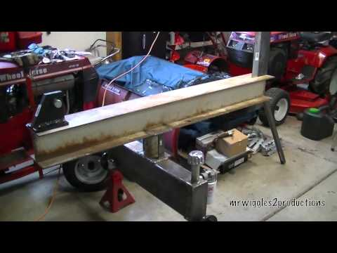 Homemade Log Splitter Build Part 6