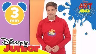 Art Attack Bastelclip #11 - Das Wasserhahn-Schild | Disney Junior