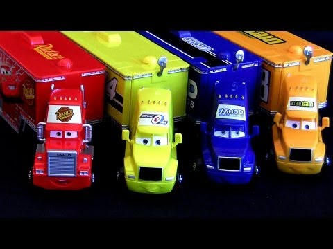 Disney Pixar CARS Trucks Haulers Mack, Mood Springs