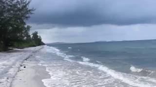 ឆ្នេរអាវយាយសែន កោះកុង Avyaysaen Beach, Koh Kong, Cambodia