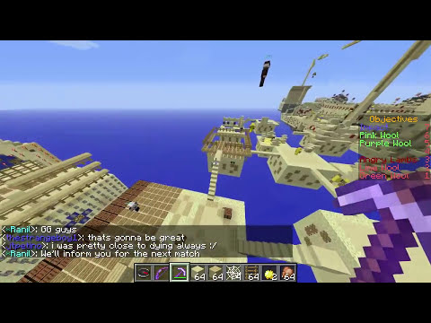 Minecraft PvP - Project Ares Ep5, 4T Angry Lambs vs Impact #3