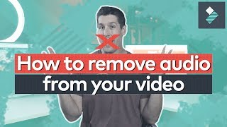 Easily REMOVE AUDIO From Video!