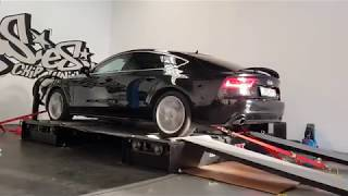 4x4 Dynomax 4000BR Dyno and Audi A7 power measurement @ Galingas.es chip tuning Malaga