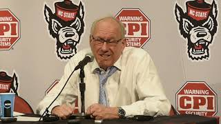 Jim Boeheim postgame news conference after Syracuse basketball vs. North Carolina State (2019)
