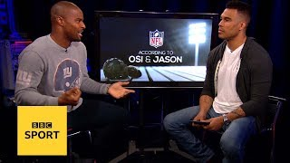 What can KSI v Logan Paul teach NFL players?| According to Osi and Jason| BBC Sport
