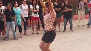Odisha college girls dance on Prabhu Deva's 'Muqabla'