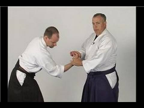 Kotegaieshi: Basic Aikido Techniques : Kotagaeshi Wrist Lock from a Straight Punch Image 1