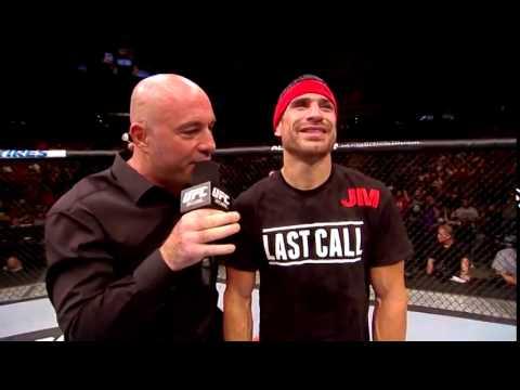 UFC 177 Danny Castillo and Tony Ferguson Octagon Interviews