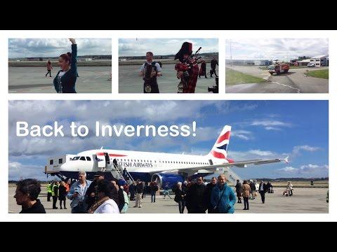 London Heathrow to Inverness - British Airways Launch Flight