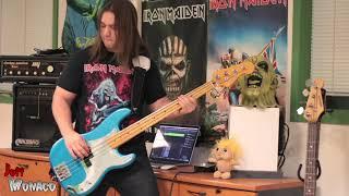 Iron Maiden - Sanctuary Bass Cover