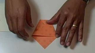 Flower Pot Fold - Origami - From Hankodesigns.com