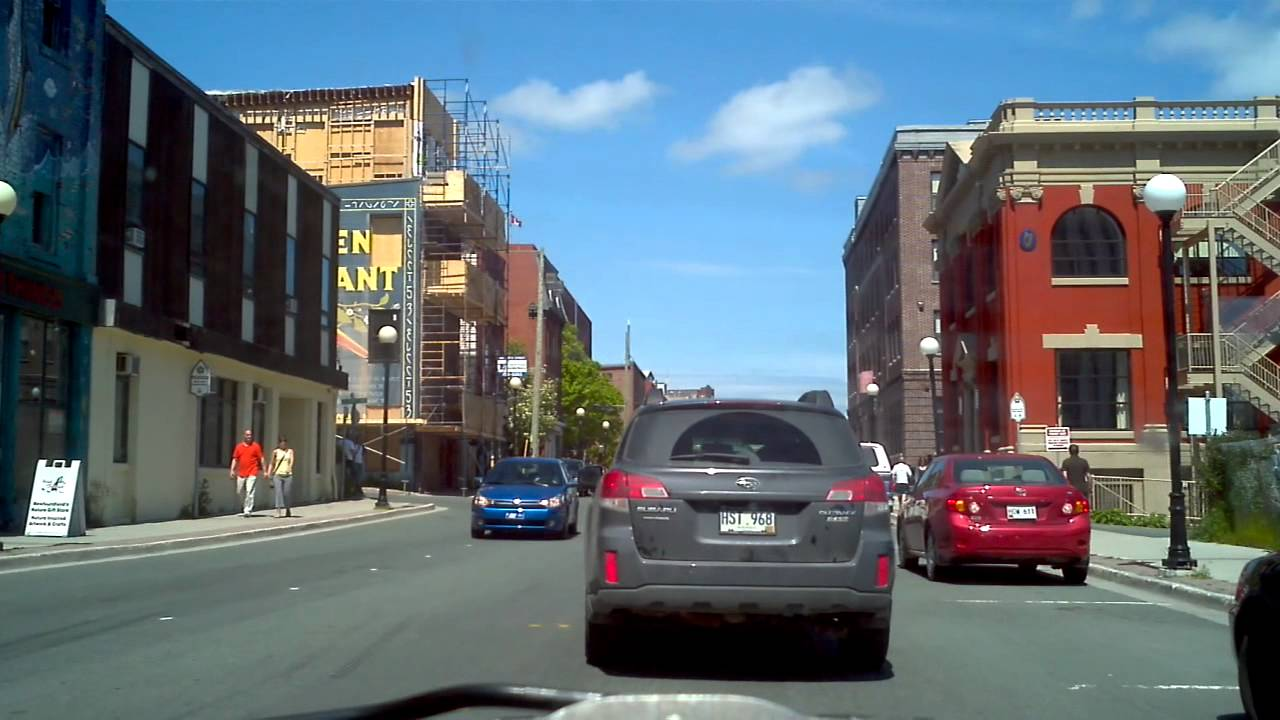 a drive through downtown st john 39 s newfoundland and. Black Bedroom Furniture Sets. Home Design Ideas