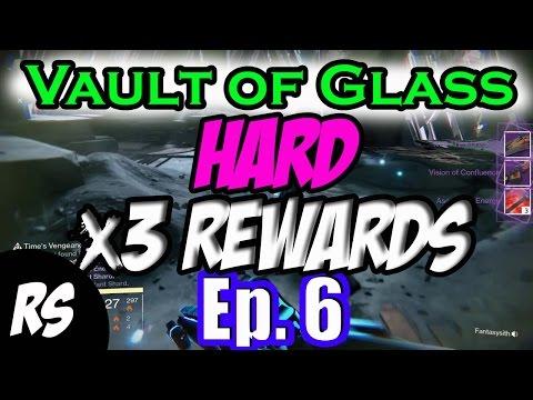DESTINY: VAULT OF GLASS HARD x3 REWARDS Ep. 6