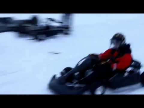 Winter Go Karting in Scandinavia & Finland - Fast, Furious & Fun