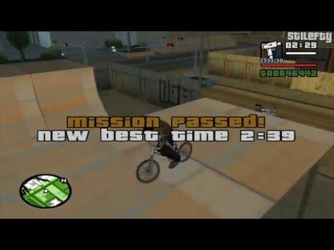 GTA San Andreas - BMX Challenge