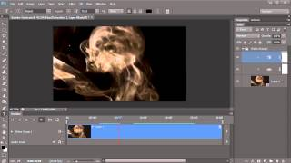 Animated smoke effect in Photoshop CS6