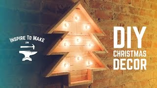 DIY Pallet wood Christmas Tree