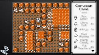 Pokémon Red/Blue/Yellow: All Items/Hidden Items/TMs ~ Montage ~
