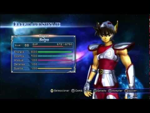 Saint Seiya PS3 All Characters and DLC