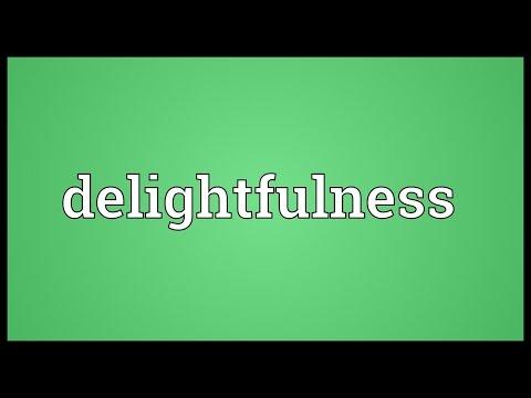 Header of delightfulness
