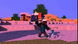 Dominating The Game Minecraft Animation İntro Dual HG Animation