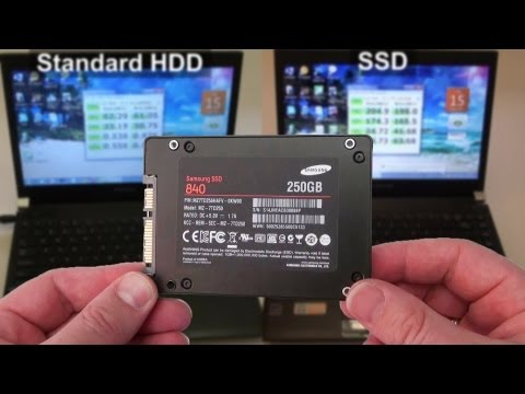 Samsung 840 SSD - Huge Performance Improvement Plus How to Install & Benchmark