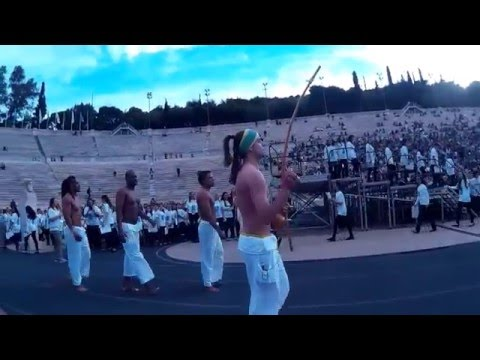 Olympic Flame Ceremony Rio 2016 Athens Greece
