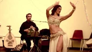 Sadie Belly Dance 2013 VIOLIN TAKSIM with Rachid Halihal (Best Quality of SADIE on Utube 1080P)