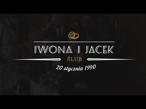 Iwona I Jacek - Ślubny Teledysk Retro (25 Rocznica ślubu)
