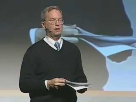 Eric Schmidt, Google, at the Innovation Convention 2011 - Brussels