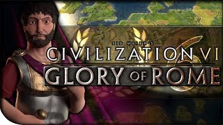 Rome Sacks Thebes | Civilization VI — Glory of Rome 6 | TSL Giant Earth King