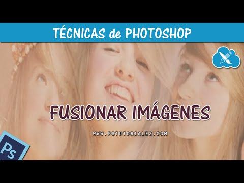Tutorial de fusión de imágenes en Photoshop