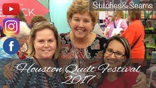 Houston Quilt Festival 2017 vlog