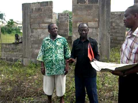 GAIO - Library in Akwatia Ghana, building phases.AVI