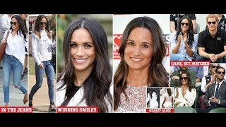 Meghan Markle and Pippa Middleton look alike