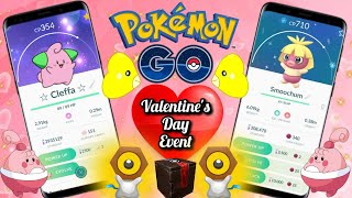 🔴 LiVE 💚 SHiNY Cleffa & Smoochum 💋 2X MELTAN BOX OPENING | Valentines Event in Pokemon Go!