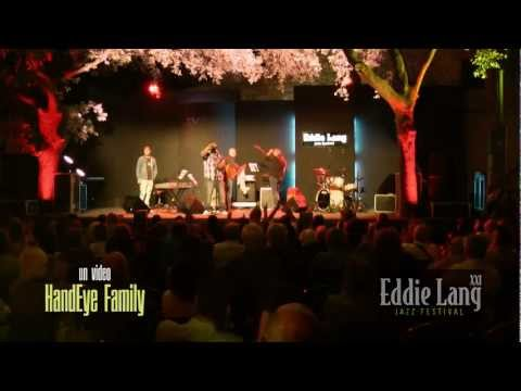 Amazing drum solo by Lee Pearson @ Eddie Lang Jazz Festival 2011 (dedicated to Dennis Chambers)