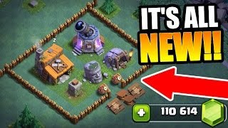GEMMING THE NEW BUILDER VILLAGE IN CLASH OF CLANS!! - NEW UPDATE 2017!