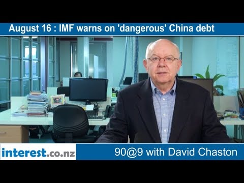 90 seconds @ 9am : IMF warns on 'dangerous' China debt