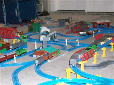 Tomy Trackmaster Thomas And Friends Layout Youtube
