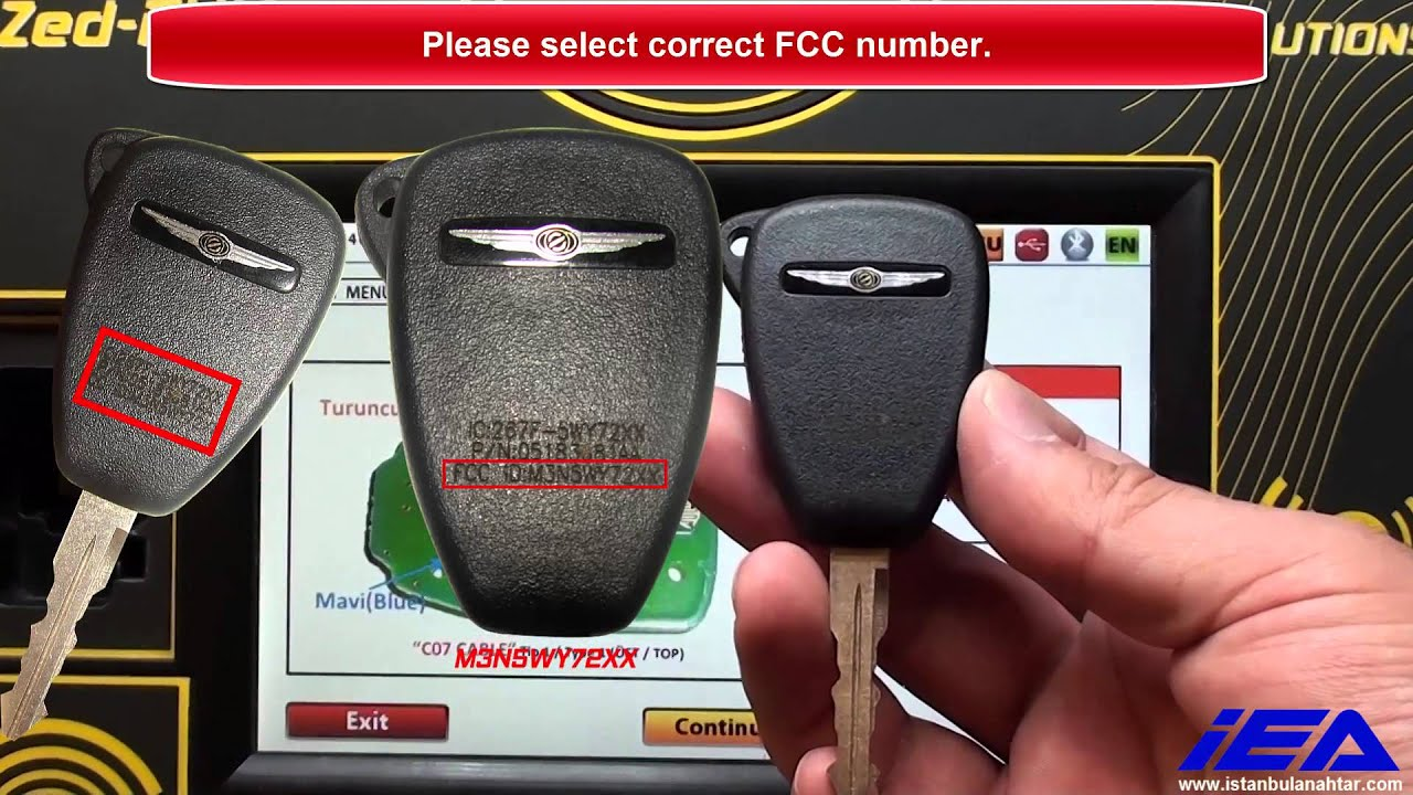 How To Unlock Chrysler Dodge Jeep Remote Key Pcf7941 Youtube