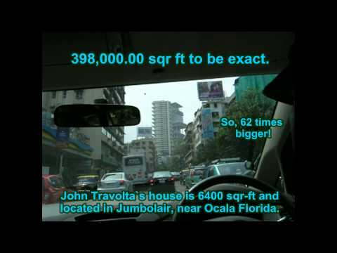 Mumbai - India,  Mukesh Ambani - Antilia residence - Wold's most expensive house