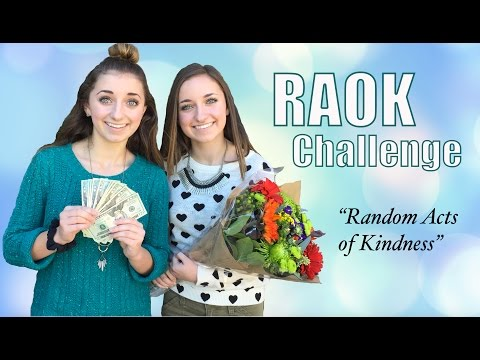 RAOK Challenge | Random Acts of Kindness | #ShareGoodness