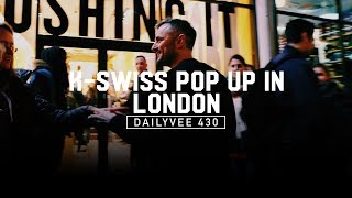 Meeting Fans at the Crushing It! Pop Up in London | DailyVee 430