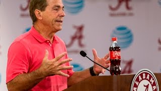 Nick Saban comments on the 1970 Kent State Shootings