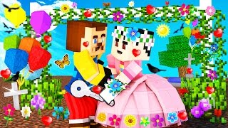 Minecraft - HELLO NEIGHBOR - WHO KISSED THE NEIGHBOR?!