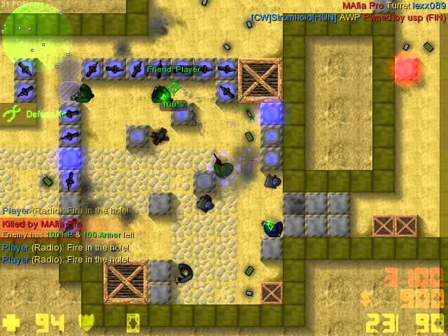 Руководство запуска Counter-Strike 2D по сети