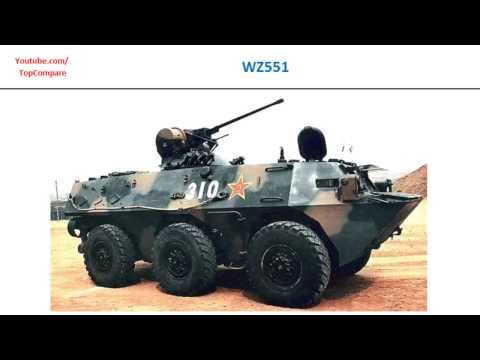 VBTP-MR Guarani or WZ551, 6x6 armored fighting vehicles specifications