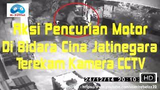Aksi pencurian motor di wilayah Bidara Cina, Jatinegara, ter...